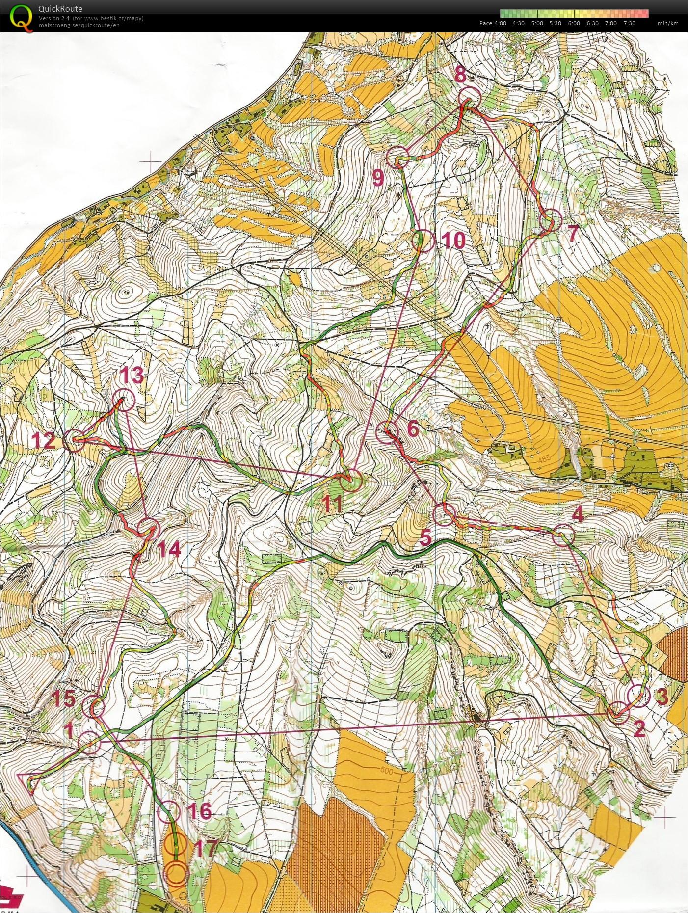 Vovo Mapy Za Trutnov Kratka 01 05 2016